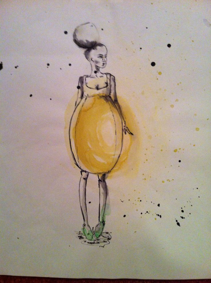 drawing aquarelle fashion art