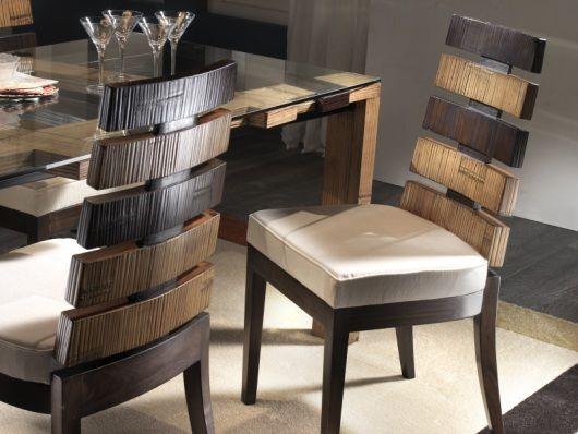 Bambus Stuhl Santander Für Esszimmer