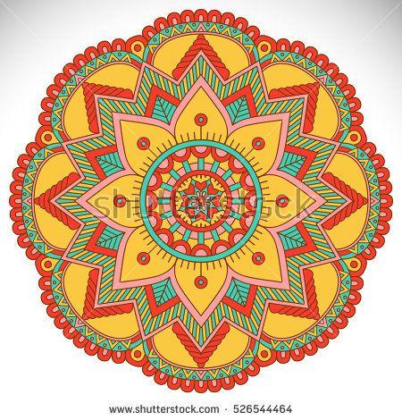Vector indian Mandala