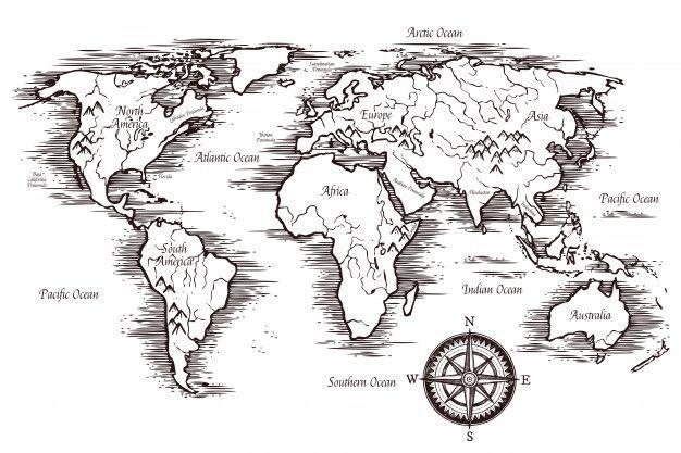 Bildergebnis Fur Geometrische Weltkarte Vorlage 11
