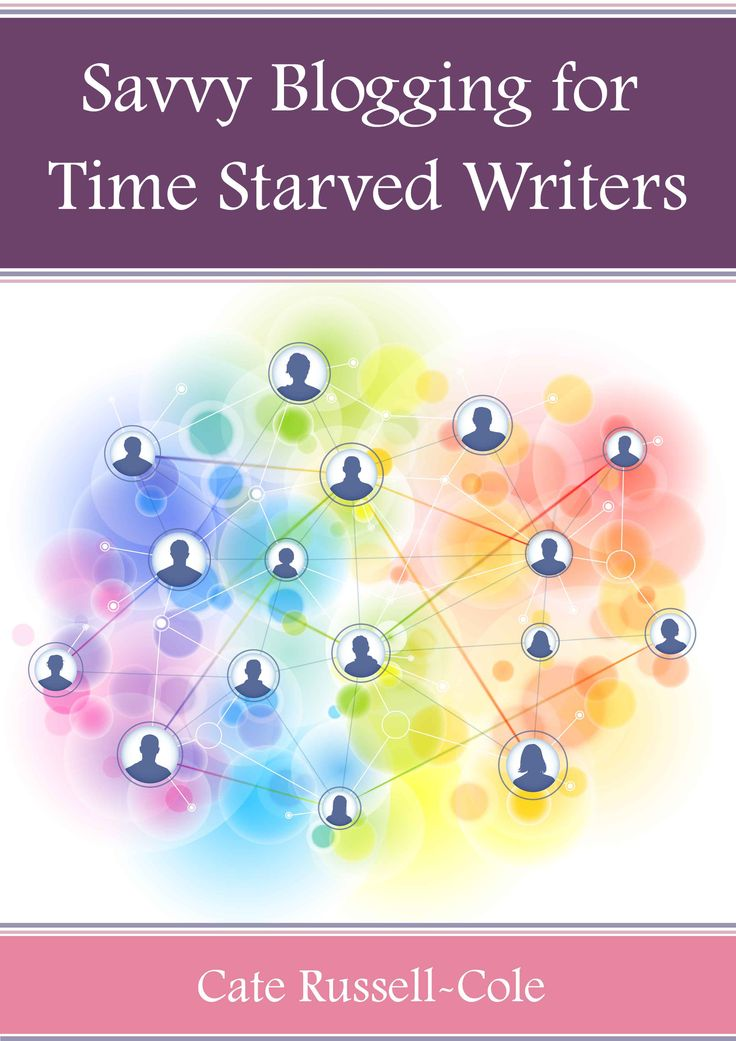 Savvy Blogging for Time Starved Writers is a free, quick-read, .pdf ebook, containing a selection of the best blogging posts which appeared on the defunct CommuniCATE Resources for Writers. It places them together in one handy volume. It was not available commercially.