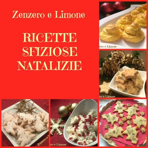 RICETTE SFIZIOSE NATALIZIE | raccolta in pdf | Zenzero e Limone
