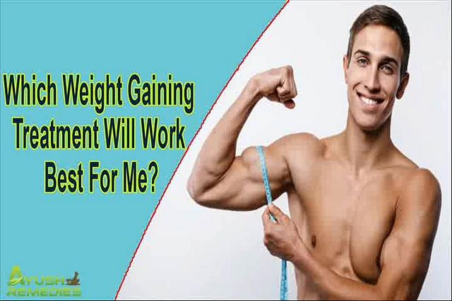You can find more details about the best weight gaining treatment at http://www.ayushremedies.com/weight-gain-supplements-for-men.htm  Dear friend, in this video we are going to discuss about the best weight gaining treatment. FitOFat capsules are the best treatments for weight gain that convert the fat into muscle mass.