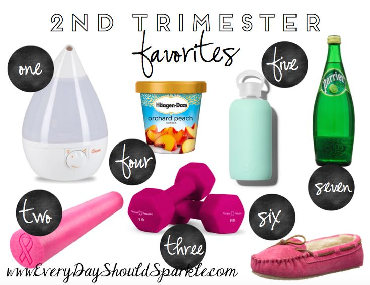 2nd Trimester Favorites and lots of updates about Little Baby H! Check it out at www.everydayshouldsparkle.com