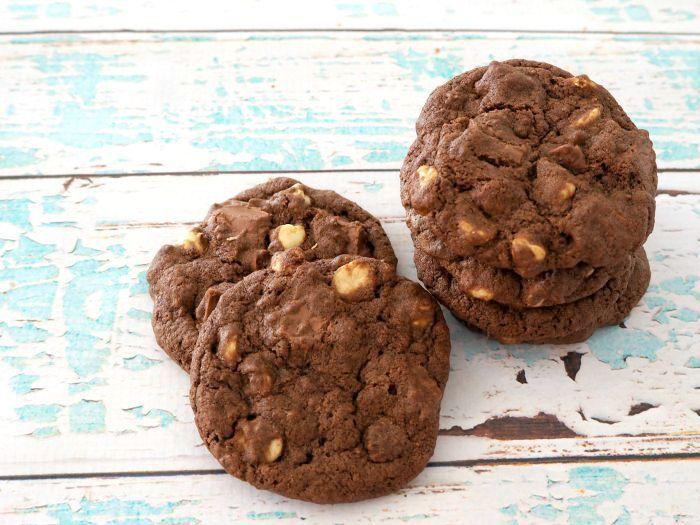 I'm going to start this post with a warning, these Thermomix Double Choc Chip Biscuits are quite possibly the BEST chocolate chip biscuits you will ever try - seriously!