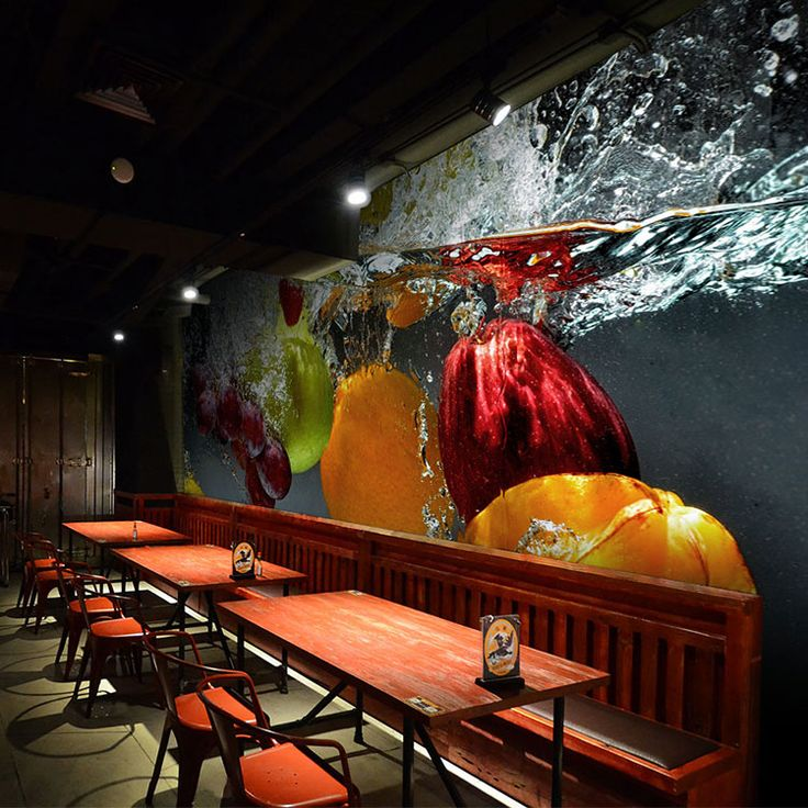 1000 ideas about 3d wallpaper on pinterest 3d wallpaper for Cafe mural wallpaper