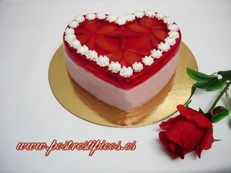 Torta Helada En Forma De Coraz 243 N D 237 A De La Madre
