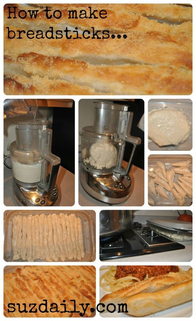 How to make homemade breadsticks.  These are so good!  They add so much to a weeknight meal.