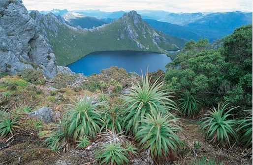 Lake Oberon, Western Arthur Range, South West Tasmania