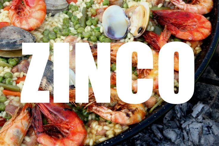 ZINCO - Funções, benefícios e alimentos ricos em Zinco