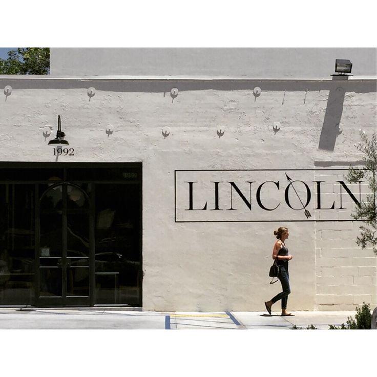 Lincoln. Lovely storefront. via themai.spy Instagram