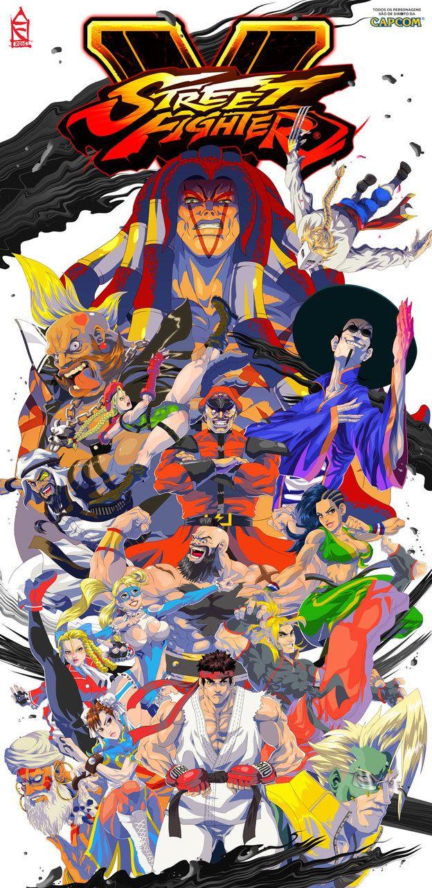 Street Fighter V Tribute by ZehB on DeviantArt