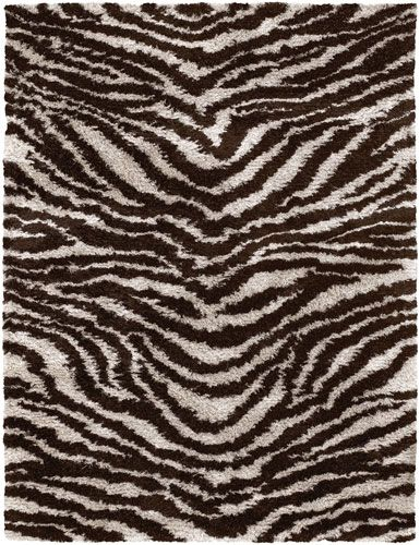 5x7 Area Rugs White Brown Black Hand Woven Contemporary Rug Texture New Zealand Wool Polyester Rectangular Interior
