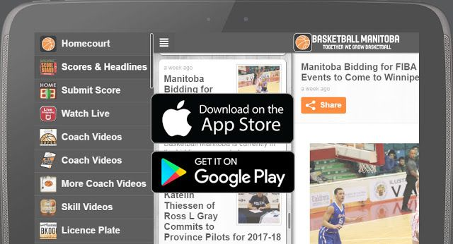 Basketball Manitoba Scoreboard App Updated for Upcoming Basketball Season   The Basketball Manitoba SCOREBOARD is a must have app for any player coach referee or fan of basketball that offers a ton of features including... With the free Basketball Manitoba Scoreboard app you'll stay connected with the latest news and results from the Manitoba basketball scene! The app is loaded with tons of features for players coaches officials and fans. Watch hundreds of hours of skill coaching or rules…