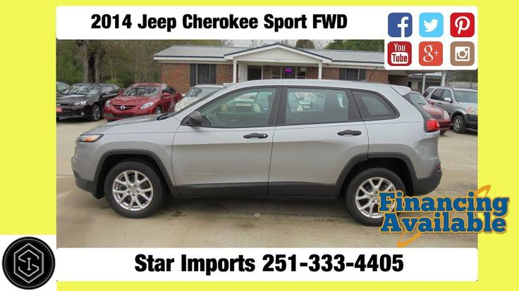 Liked on YouTube 2014 Jeep Cherokee Sport For Sale Star