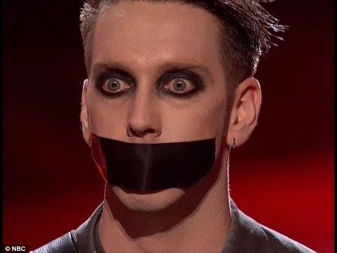 Tape Face - Silly Mime Erupts The Building  - Full Segment - Semifinals ...