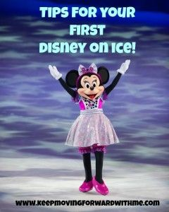 Disney on Ice Tips - Keep Moving Forward With Me