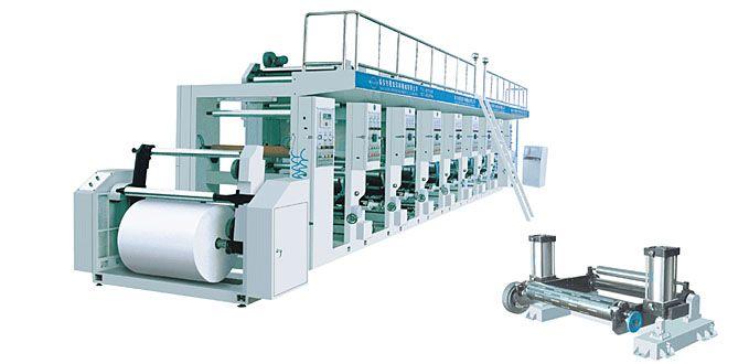 Máquina de la impresión en color del fotograbado