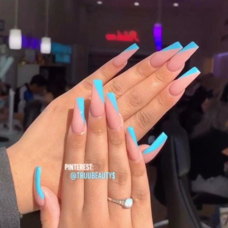 Summer Nails In 2020 Acrylic Nails Summer Acrylic Nails Gel Nails