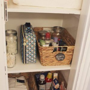 Bathroom Linen Closet Storage Ideas