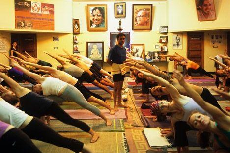 K Pattabhi Jois Ashtanga Yoga Institute - Mysore, Karnataka, India del Sur