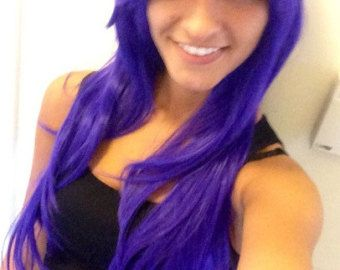 Violet // Beautiful Soft Lavender Purple Wig Synthetic by LuxLoxs