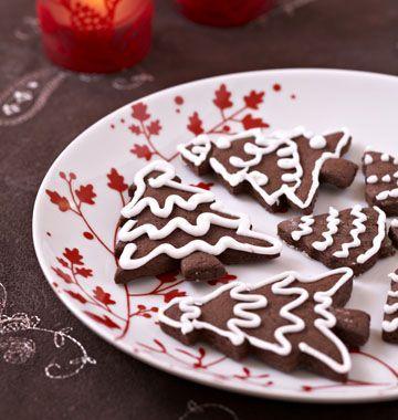 Biscuits de Noël au chocolat - Ôdélices : Recettes de cuisine faciles et originales !