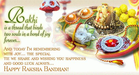 Send Greetings on Raksha Bandhan