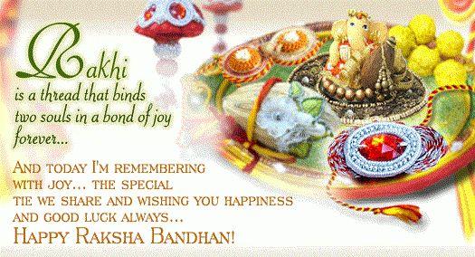 Send Greetings on Raksha Bandhan