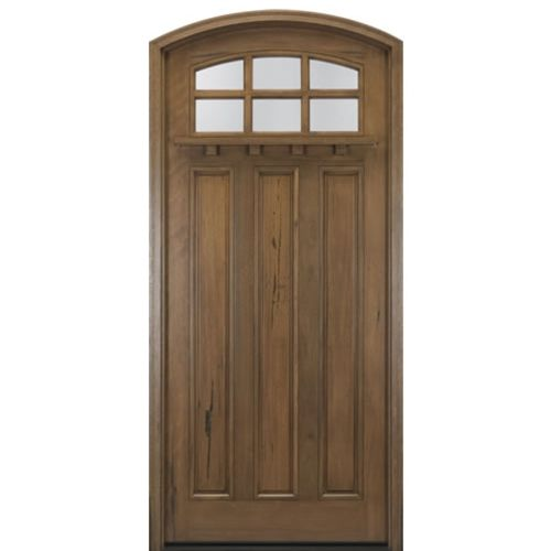 MAI Doors A908-ER Alpine Arts and Crafts Eyebrow Radius Top Rail 8-Lite  sc 1 st  Pinterest & 81 best Arch and Round Top Wood Doors images on Pinterest | Round ... pezcame.com