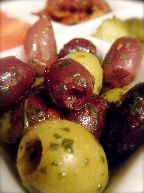 OK, not really a dish but olives are great.
