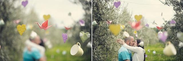 tren di nozze: Origami, sorrisi e tazze da the