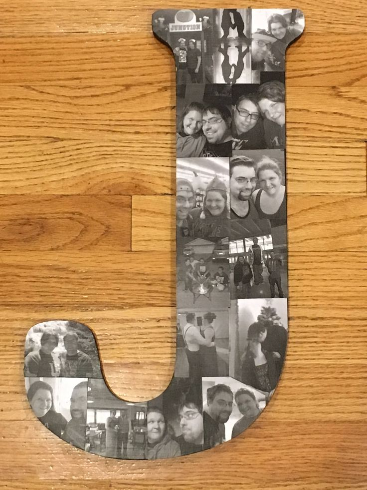 Excited to share the latest addition to my #etsy shop: Wooden Letter Picture Collage