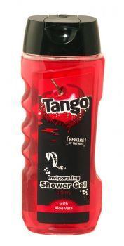 Tango Invigorating Shower Gel 400ml Cherry Beware of the Bite! With Aloe Vera.