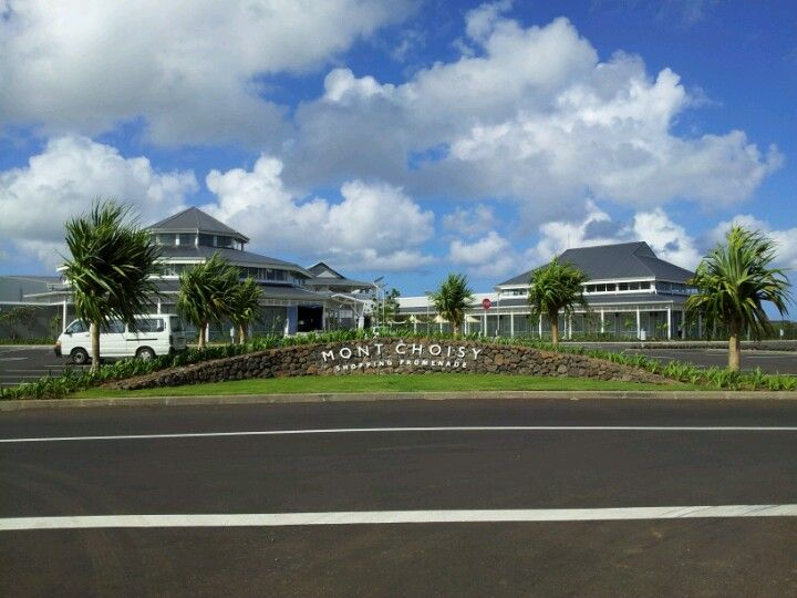 Mont Choisy Shopping Promenade Mauritius
