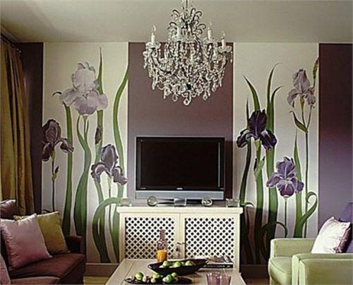 Комбинирование обоев в гостиной – строго, элегантно или броско, ярко?