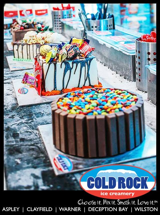 Cold Rock ice cream cakes can now be ordered online