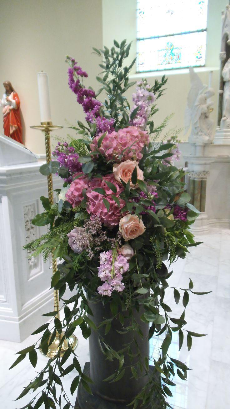 Best images about pedestal on pinterest altar flowers
