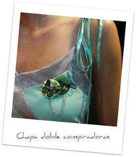 Chapa charm mariposa, en el blog Con Dos Bolsas en cada Mano.
