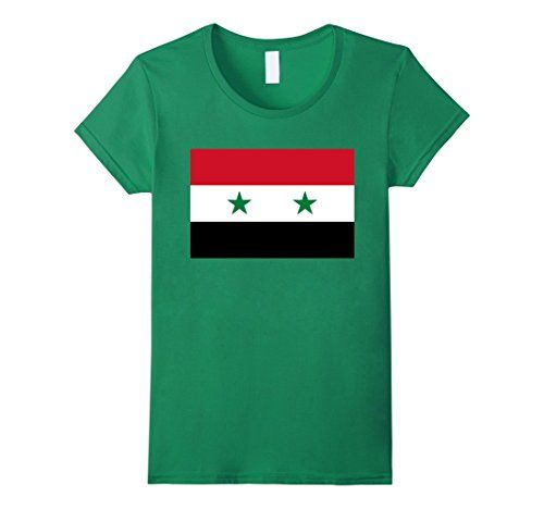 Women's Authentic Flag Of Syria T-Shirt Small Kelly Green... https://www.amazon.com/dp/B01LVUEK7Q/ref=cm_sw_r_pi_dp_x_GsSCybS96ERCT #syria #syrian #syriaflag #syrianflag #سوريا #سوري العلم السوري