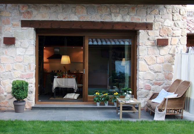 Casas de campo sencillas y frescas al aire libre buscar - Ideas para casas rurales ...