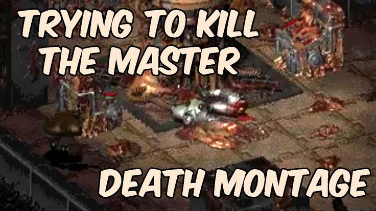 Trying to kill the Master in Fallout 1 | Death montage