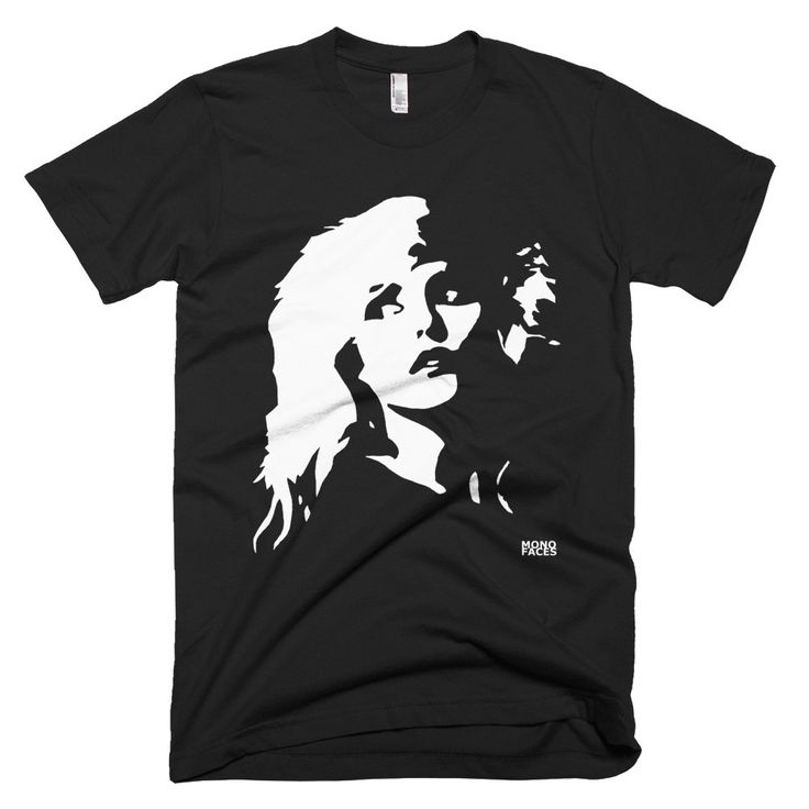 Blondie Mens T-shirt, Debbie Harry Mens Shirt, Boyfriend Tshirt, Husband Gift, Music Lover Gift, Birthday Gift, New Wave And Punk Shirt by MONOFACESoADULT on Etsy