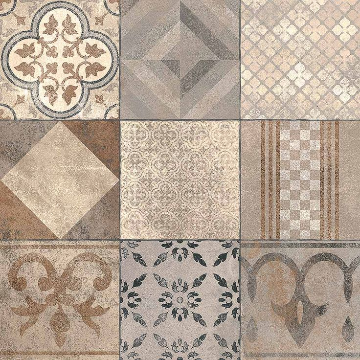 Marlux Mosaic Arabica gecoate design siertegel 60x60x4 - Lek Tuinmaterialen. Tuintegel gecoat, onderhoudsvriendelijk en sfeervol.