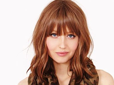Sensational 1000 Images About Medium Hairstyles Bangs With Layers For Adults Short Hairstyles Gunalazisus