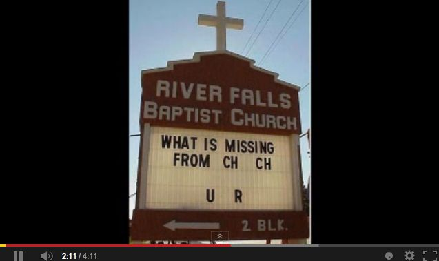 75 best images about Creative church signs! on Pinterest ...