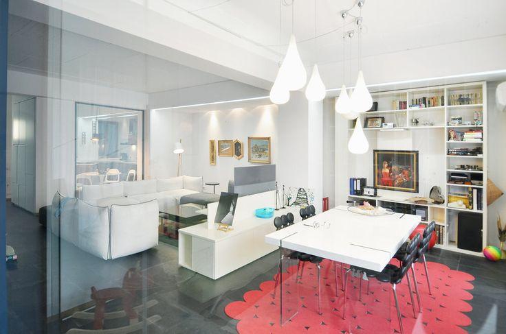 Apartment in Bucharest  - #interior #interiordesign #kitchen #living #lifestyle #housing #residential #white #slate  #urban #architecture #apartment #relax