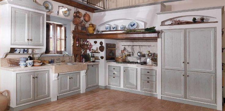 Oltre 25 fantastiche idee su cucine rustiche su pinterest - Cucine murate moderne ...