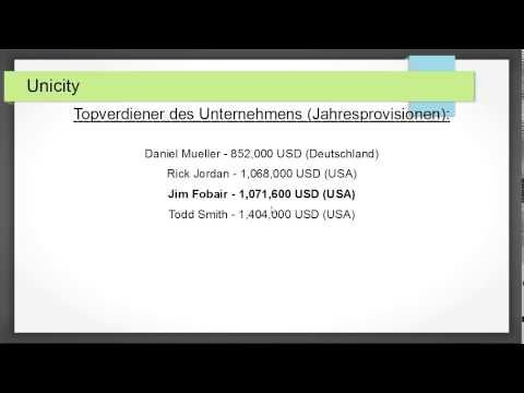 Unicity is a modern mlm company which is one of the 500 fastest growing companies in the United States.  Unicity Deutschland, schaue unter, Erfahrungen Unicity -- http://www.youtube.com/watch?v=Ni0jSQX1PWY