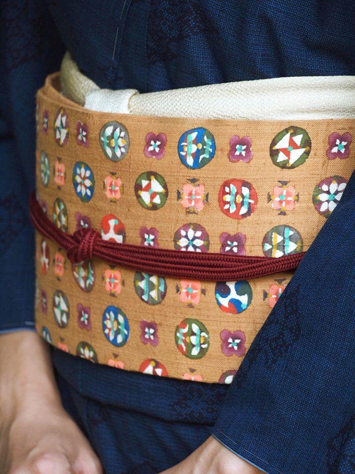 Obi (a sash for Japanese kimono) 帯